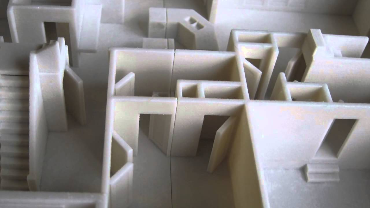 The 3D Printing Store Architectural Modeling YouTube
