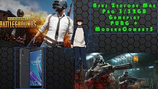 PUBG & MC5 Game Test in Asus Zenfone Max Pro M1    Gaming Review    3/32gb Variant