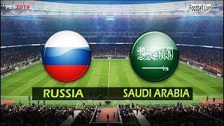 PES 2018   RUSSIA vs SAUDI ARABIA   Full Match & Amazing Goals   Gameplay PC