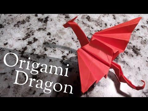 Origami Dragon - easy, step by step tutorial