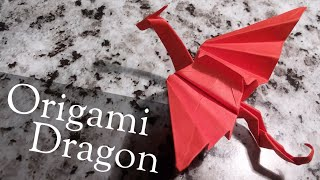 Origami Dragon - easy, step by step tutorial