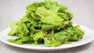 Как готовить салат из латука - Sangchu-geotjeori.