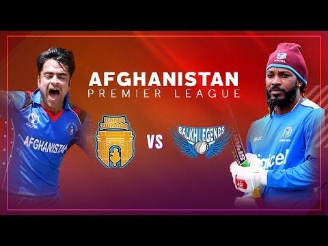APL 2018 M3: Balkh Legends vs Kabul Zwanan Live Stream, Afghanistan Premier League - APLT20