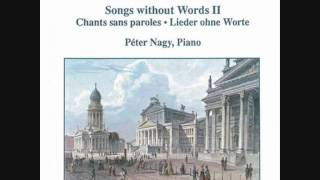 Mendelssohn - Songs Without Words Op. 85-3 No. 39 in E Flat Major - Peter Nagy