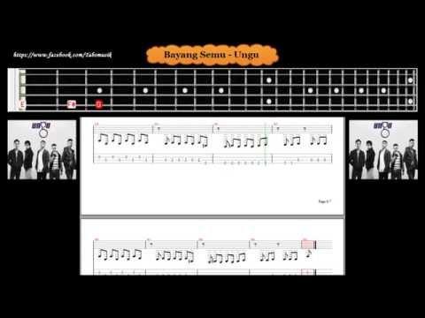 Bass - Bayang Semu - Ungu ( Tab Bass Cover )