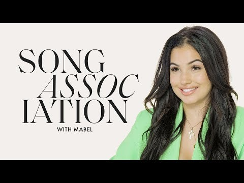 Mabel Sings Rihanna, Beyoncé And Chris Brown In A Game Of Song Association | ELLE