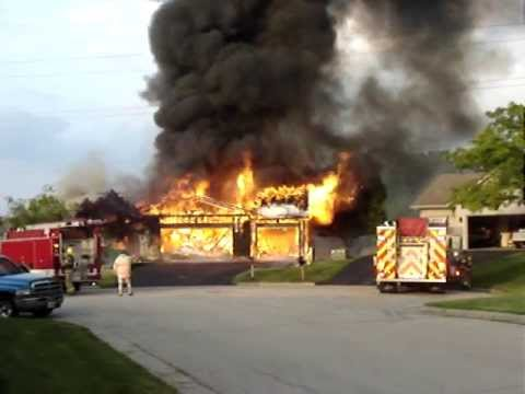 House Fire in Machesney Park IL, June 10th 2013