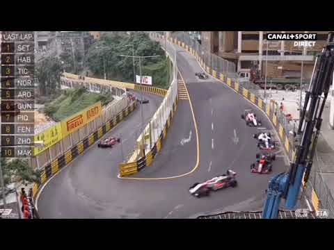 GP Macao 2017 - Increíble final de la carrera F3