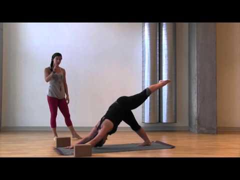 Intermediate Yoga: Eight Angle Pose