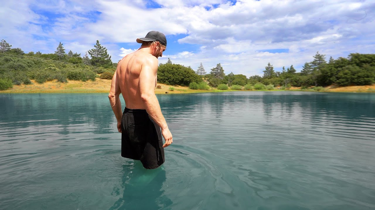 We Discovered A Hidden Mountain Lake