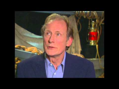 "Pirates of the Caribbean: Dead Man's Chest: Bill Nighy ""Davy Jones"" Interview"