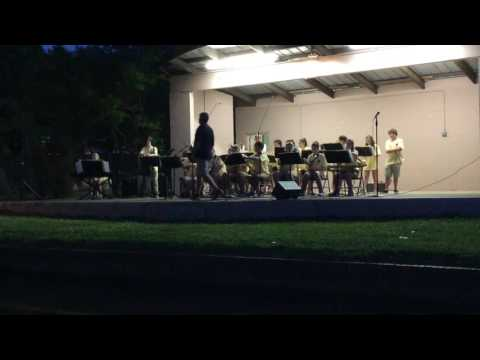 Lee Scott Academy Jazz Band Summer Swing 2016