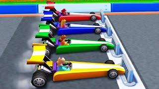 Mario Party The Top 100 Minigames - Mario vs Luigi vs Peach vs Rosalina