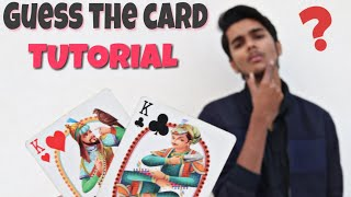 Guess Any Card Correctly ! Magic Trick Tutorial [Hindi]