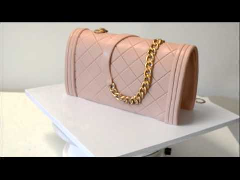7a6c28c93865 Chanel Purse Cake Demonstration - YouTube