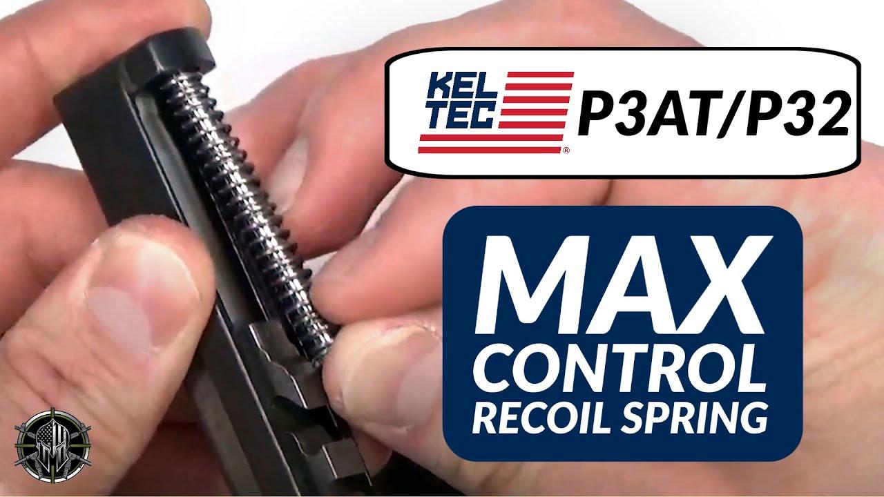 KEL TEC P3AT & P32 Max Control 13lb Recoil Spring Upgrades & Accessories -  M*CARBO