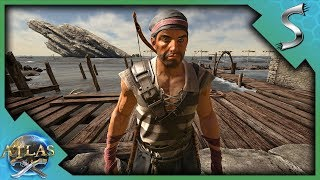 BEGINNING OUR JOURNEY IN THE FREEPORT! - Atlas [Pirate Survival Gameplay E1]