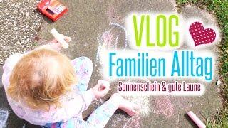 VLOG - Unser Familien Alltag | Spielen im Garten | Grillen | Kinderzimmer aufräumen | Isabeau