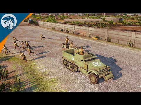 CRAZY US PARATROOPER DEFENSE, OUTNUMBERED | Steel Division: Normandy 44 US Campaign Gameplay 2