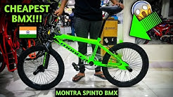 Cheapest Bmx cycle in India 🇮🇳 | Montra Spinto Bmx bike | Low Price!!😮 (MUST WATCH)