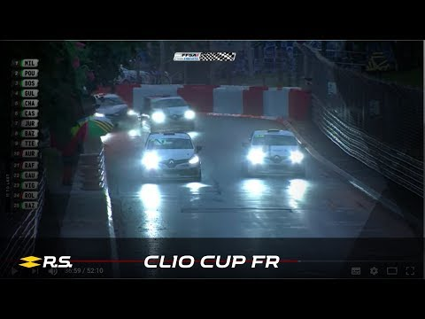 2018 Clio Cup France - Round 2 - Pau GP - Race 1