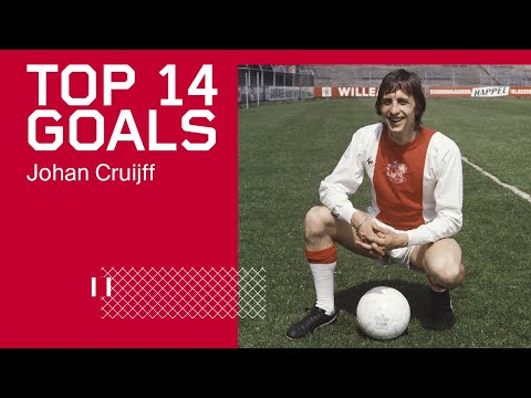 TOP 14 GOALS - Johan Cruijff