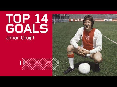 TOP 14 GOALS - Johan Cruijff   His Best Goals for Ajax ✨