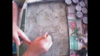 Ebru Sanatı Lale Yapımı