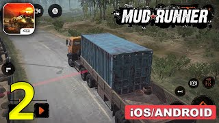 MudRunner Mobile Gameplay Walkthrough (Android, iOS) - Part 2