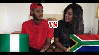 Nigeria VS South Africa (IGBO VS SOTHO) | Ry Clef & Frene.