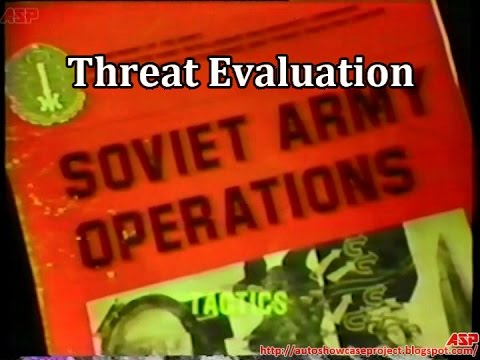 Threat Evaluation: Intelligence Preparation of the Battlefield | Vintage US Army Video