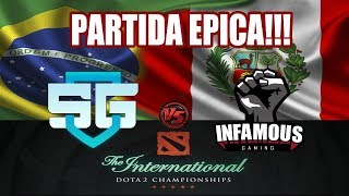 FINAL Infamous Gaming Vs SG e-sports - Qualifier SA - (Kingteka *Go Perú ctm) Imperius * Mr Choco