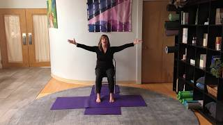 Prenatal Chair Yoga - (Part 1) with Jessie Novak