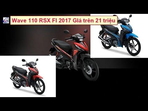 Honda Ra Mắt Xe Phổ Thông Wave 110 RSX FI 2017 21 Triệu Tại Việt Nam