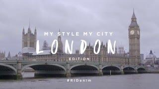 My Style My City: London Denim Edition feat Chuck Junior & Ashley Sky | River Island