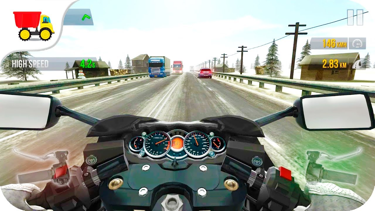Bike Race Game Traffic Rider Gameplay Android Ios