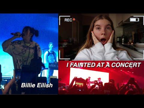 I FAINTED AT BILLIE EILISH'S CONCERT - Vlog // Storytime