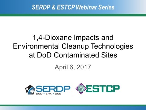 1,4-Dioxane Impacts and Innovative Cleanup Technologies at DoD Contaminated Sites