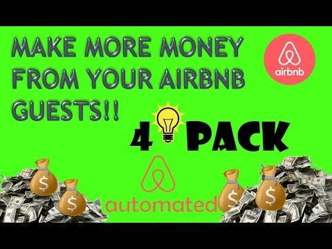 4 + Ways to Make Money If You Rent Your Property On Airbnb | Airbnb Growth Hacking
