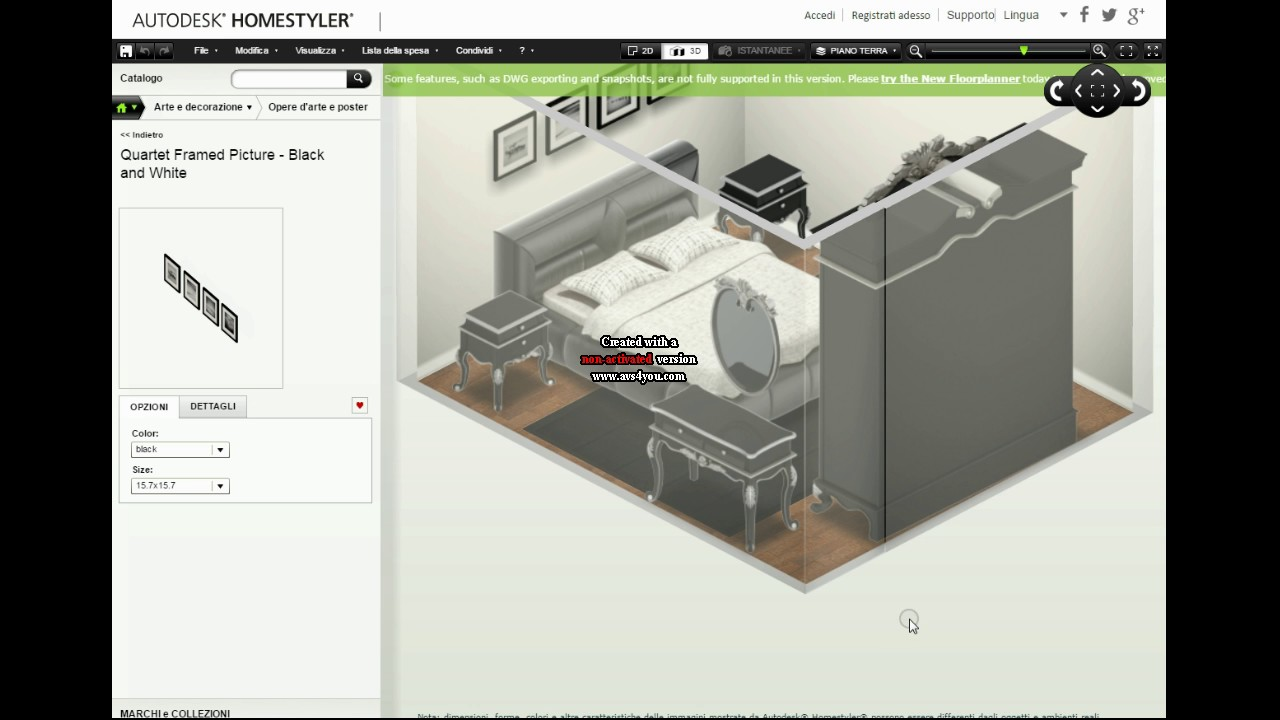 come arredare una stanza con autodesk homestyler youtube