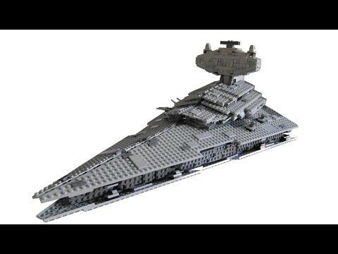 Lego star wars imperial star destroyer moc youtube - Croiseur star wars lego ...