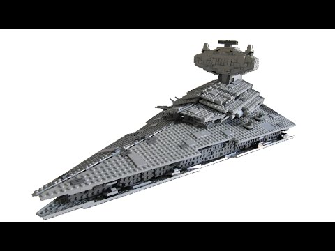 Lego Star Wars Imperial Star Destroyer Moc Youtube