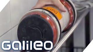 So schnell ist die Rohrpost | Galileo Lunch Break | ProSieben