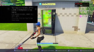 FORTNITE NEW PIOCHE AND NEW SKIN OF SAISON 4 (titi76)[en/ps4]