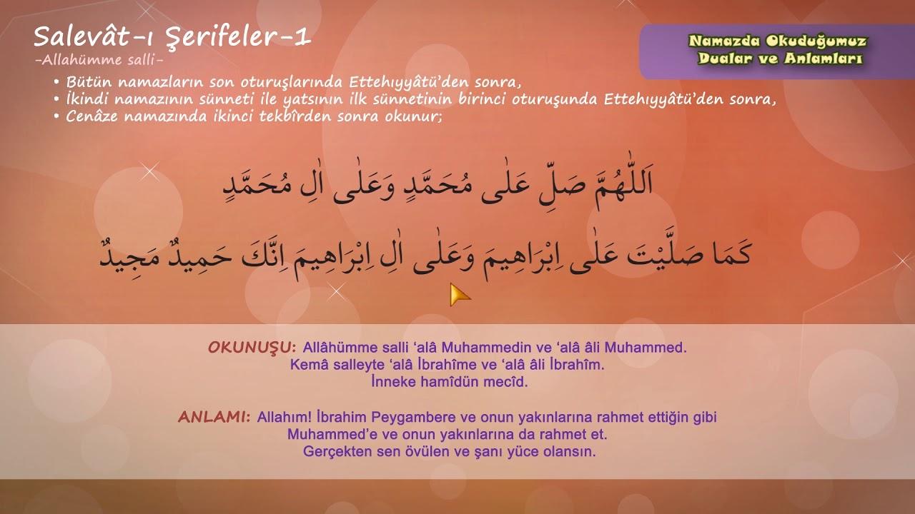 Çocuklar için / Allahümme Salli - Allahümme Barik Duaları