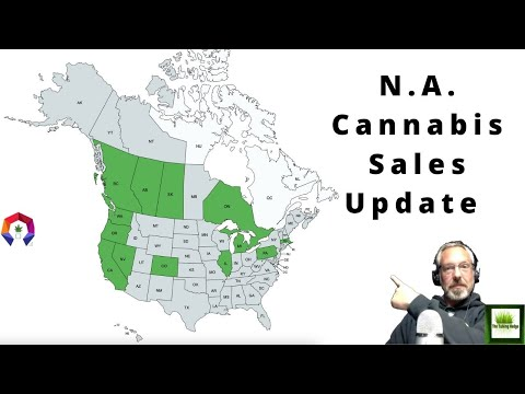 N.A. Monthly Cannabis Sales Update