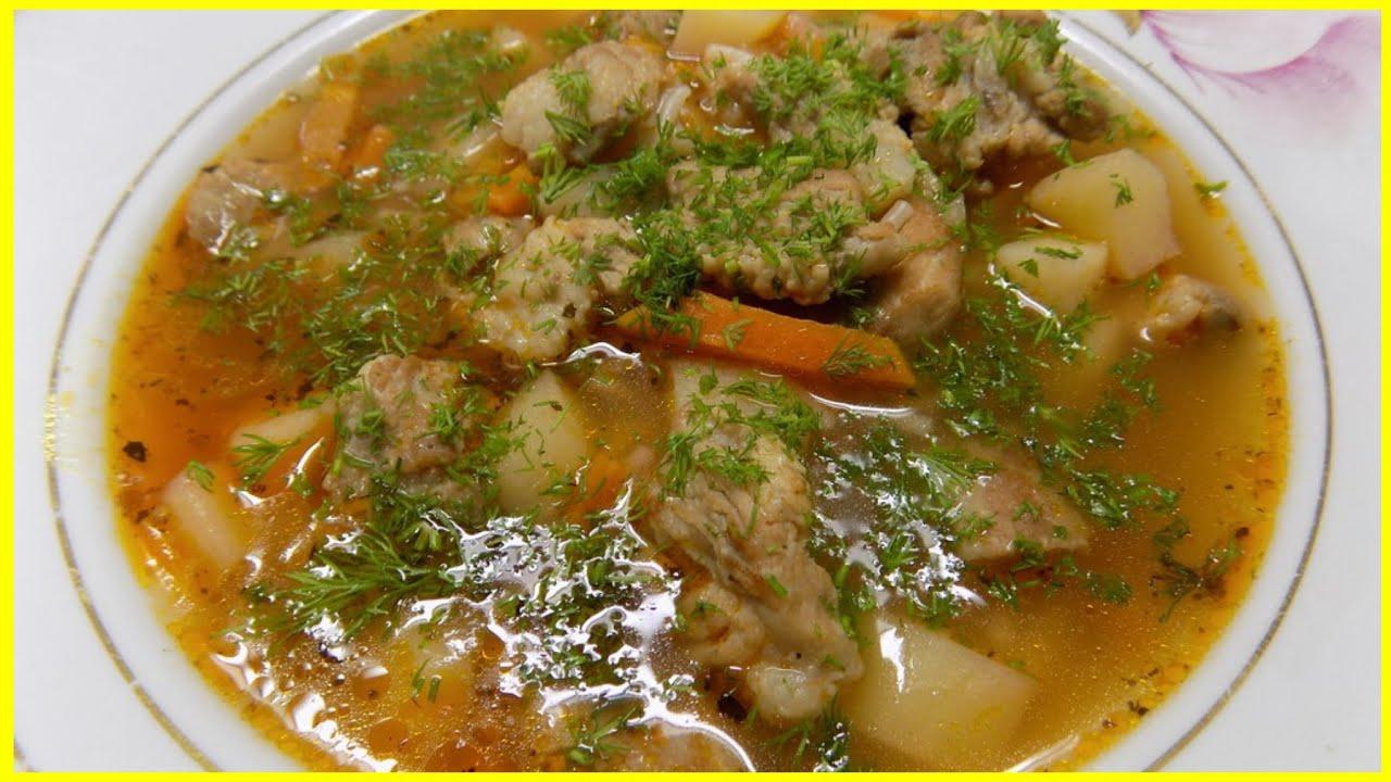 рецепты мясных супов пошагово с фото вам повезло