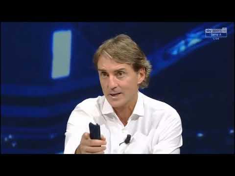 Mancini, che gaffe su Barella