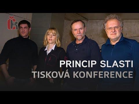 Princip slasti představili Karel Roden, Kryštof Hádek a Martin Finger