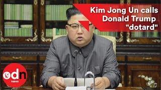 Kim Jong-un calls Donald Trump